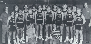 The 1976-77 Steamers Basketball Team